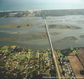 Emerald Isle, North Carolina aerial photo