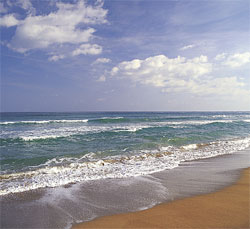 A Photo Of Waves Washing As At Surfside Beach South Carolina
